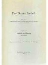 Der Dichter Barlach