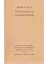 Vom Wortkunstwerk im deutschen Barok