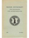 Basler Zeitschrift für Geschichte und Altertumsk..