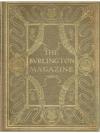The Burlington Magazine for Connoisseurs Volume ..