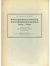 Psychodiagnostik / Psychodiagnostics Tafeln - Pl..