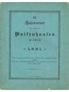 LIV. Neujahrsblatt zum Besten des Waisenhauses i..