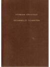 Hermann Bächtold. Gesammelte Schriften