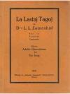 La Lastaj Tagoj