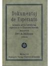 Dokumentoj de Esperanto