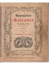 Appenzeller Kalender auf das Jahr 1904