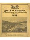 David Bürkli's Züricher Kalender (Konvolut von 1..