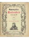 Appenzeller Kalender auf das Jahr 1881