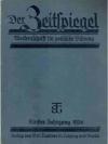 Der Zeitspiegel. 5. Jahrgang 1936