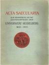 Acta Saecularia