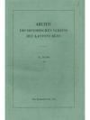 Archiv des Historischen Vereins des Kantons Bern..