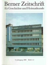 Berner Zeitschrift für Geschichte und Heimatkund..