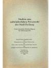Studien zum mittelalterlichen Privatrecht der St..