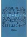 Librarium. 17. Jahr, 1974