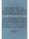 Librarium. 10. Jahr, 1967