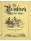 General Rockschössels Erinnerungen I. Theil
