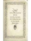 Zehnjahrbuch des Verlages  Bermann-Fischer 1938 ..