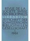Librarium. 5. Jahr 1962