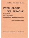 Psychologie der Sprache. 5 in 6 Bänden