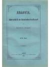 Argovia. XVII. Band
