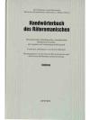 Handwörterbuch des Rätoromanischen • Indizes