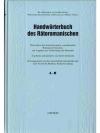 Handwörterbuch des Rätoromanischen • A - M