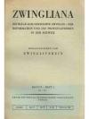 Zwingliana. Band IX