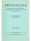 Zwingliana. Band XV