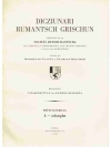 Dicziunari Rumantsch Grischun 1. Faschicul • A -..