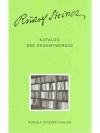 Katalog Des Gesamtwerkes