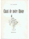 Chant de notre Rhône