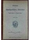 Geschichte der Schweizerischen Literatur. Zweite..