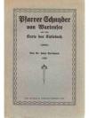 Pfarrer Schnyder von Wartensee und seine Karte d..