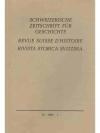 Schweizerische Zeitschrift für Geschichte. 18. J..