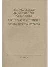 Schweizerische Zeitschrift für Geschichte. 19. J..