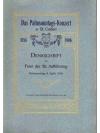 Das Palmsonntag Konzert in St.Gallen 1854-1906