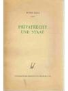 Privatrecht und Staat