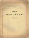 Zehn Lieder vom Wallis