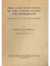 The constitutions of the United States and Swize..