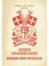 Schweizer Archiv für Heraldik Jahrbuch 1955