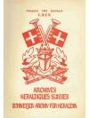 Schweizer Archiv für Heraldik Jahrbuch 1956
