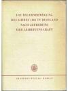Die Bauernbewegung des Jahres 1861 in Russland N..