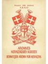 Schweizer. Archiv für Heraldik Jahrbuch 1958