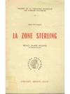 La zone sterling