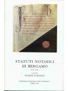 Statuti notarili di Bergamo (secolo XIII)