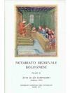 Notariato Medievale Bolognese Tomo II