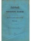 Jahrbuch für Schweizerische Geschichte 10. Band