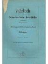 Jahrbuch für Schweizerische Geschichte 8. Band
