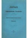 Jahrbuch für Schweizerische Geschichte 11. Band
