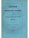 Jahrbuch für Schweizerische Geschichte 1. Band